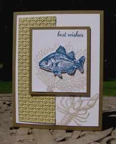 By the Tide Best Wishes by Mayapple - Cards and Paper Crafts at Splitcoaststampers