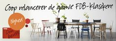 FDB møbler - relaunche! Yes, yes, yes... #FDB #COOP #designerfurniture #design #furniture
