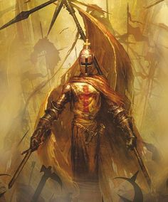 The Knights Templar were as fierce in battle as they were pious, many saught redemption from sins and joined the order after being called by the pope to crusade to Jerusalem, although many still commited vile acts believing their title granted immunity to the wrath of God.