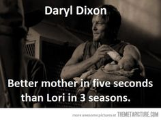 Uh, duh. Daryl is better at everything than everyone. @Kelly Teske Goldsworthy Teske Goldsworthy Teske Goldsworthy Larkin