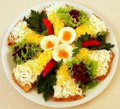 Идеи закусок для праздничного меню.   Шедевры кулинарии