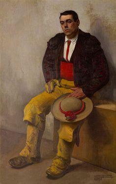 El Picador, 1909 by Diego Rivera (Mexican 1886-1957)