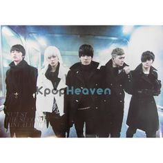 Poster Size: 30 x 20 in.  Idols featured: JR, Aaron, Baekho, Minhyun, Ren/Len