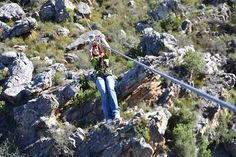 When considering a Ceres Zip Line adventure, the only thing to fear is the missed opportunity if you don't try it out. Cape Town, South Africa, Opportunity, African, Adventure, Zip, Fairytail, Adventure Nursery, Fairy Tales