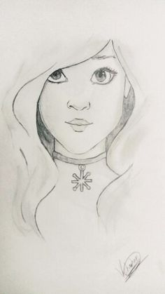 Cute girl :- made by me