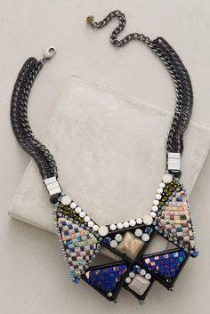 Nocturne Giza Bib Necklace #anthrofave