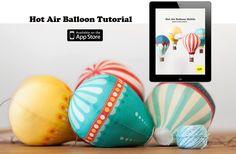Hot Air Balloon Tutorial App