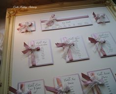 Luxury Wedding Table Plan. Seating Plan. by QuillsWeddingFavours www.quillsweddingstationery.co.uk https://www.facebook.com/pages/Quills-Wedding-Stationery/278003989009997