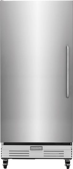 Frigidaire FCFS181LQB Frigidaire Commercial 17.9 Cu. Ft. Upright Freezer with Adjustable Wire Shelves, Locking Caster Wheels, Interior Lighting, Manual Temperature Control and Automatic Defrost