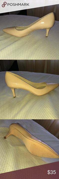 Kitten Heels Pretty Nude Kitten Heels Ann Taylor Shoes Heels