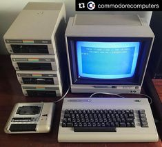 #Repost @commodorecomputers with @repostapp Commodore 64 complete setup in Beige. #c64 #commodorebusinessmachines #commodorecomputers #commodore64