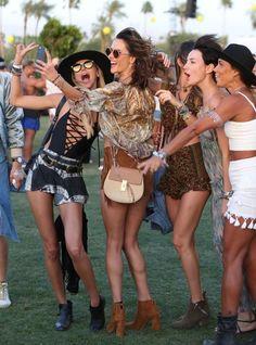 Alessandra Ambrosio Photos: Coachella Music Festival - Day 1