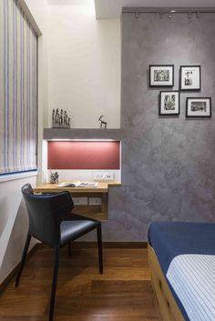 Desk in bedroom - Ar. Puran Kumar