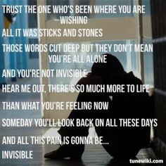 Hunter Hayes ~ Invisible