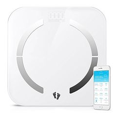 multifun Bluetooth Body Fat Scale Body Composition Monitor with Smartphone AppAuto Recognition Technology Smart ScaleTempered Glass Platform for Healthy Weight Loss Tracking Body Scale Analyzer * Want to know more, click on the image.