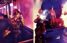 Zuzanna Bijoch Travels in Louis Vuitton for Harpers Bazaar Singapore by Gan
