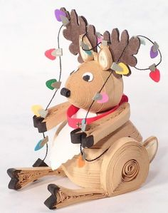 A Christmassy reindeer, what could be nicer?