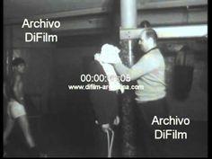 DiFilm - Carlos Monzon entrena para pelea con Antonio Aguilar 1967 - YouTube