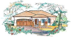 This 1 story Mediterranean features 1,343 sq feet. Call us at 866-214-2242 to talk to a House Plan Specialist about your future dream home!
