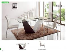 Dining Room Furniture Modern Dining Sets 1018 Table and 365 Chair for sale at http://www.kamkorfurniture.ca