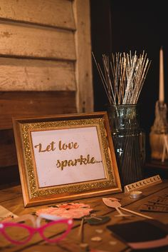 Sparklers Station Bar Quirky Vintage Glamour Wedding https://www.jacksonandcophotography.com/