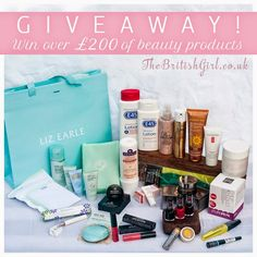 The British Girl: The Ultimate Autumn Beauty Giveaway - Win Over £200 Of Products!