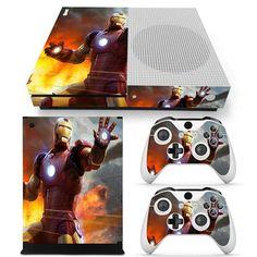 Best Superhero, Superhero Design, Iron Man Armor, Xbox One Console, Xbox One S, Decal, Shell, Marvel, Awesome