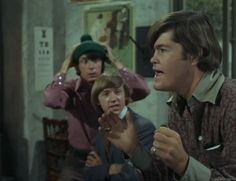 Hold on to your hat, Mike, Micky's got an idea! Dance, Monkee, Dance Pictures   Sunshine Factory