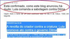 Rota 2014 - Blog do José Tomaz: Lula mobilizou ministro do TCU contra… o governo D...
