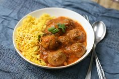 Tender and succulent lamb kofta meatballs are lovingly cooked in a creamy and flavourful curry sauce, perfect for a special Indian meal.