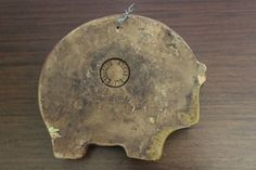 Gli-Etruschi-Italy-Wall-Art-Plaque-Ram-Pottery-Vintage-Mid-Century-Raymor-Era
