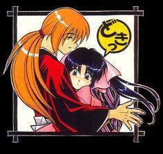 Kenshin y Kaoru