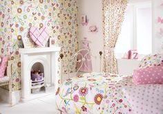 Use our whimsical Kid's Corner Fabrics on our custom window treatments, bedding and pillows to create a magical space for the child in your life. Girl Curtains, Cute Curtains, Nursery Curtains, Small Space Nursery, Baby Nursery Closet, Sweet Home, Shabby Chic Pink, Made To Measure Curtains, Kids Corner