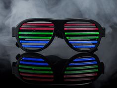 DropShades, LED Glasses That Light Up to the Beat of the Music