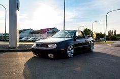 """Golf mk3.5 Cabrio sitting on BMW 5 Series F10 17"""" wheels"""