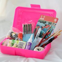 Make your own traveling art box