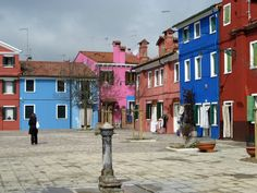 I colori di Burano - D. Baronchelli #architecture #italy #arredamento #stampe