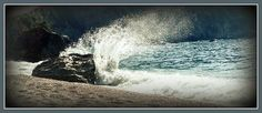 Petanoi Beach Big Island, Blue Crystals, Niagara Falls, Greece, Around The Worlds, Waves, Beach, Outdoor, Beautiful