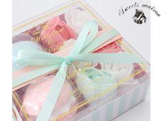 【ノルコーポレーション】スウィーツメゾン マカロンフィズ&フラワーペタル ギフトボックス (4回分)