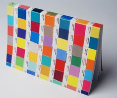 The Pantone Chips notebook by Chronicle Books. Click to read about other journals for the notebook fetishist at TorontoStandard.com (Available at Toronto's Magic Pony for $12) #notebook #writing #pantone #graphicdesigners #colour