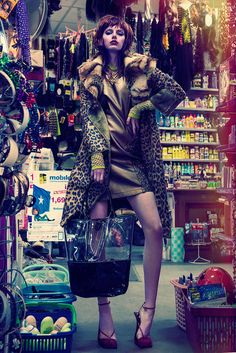 Glamorous Urban Editorial fashion photography