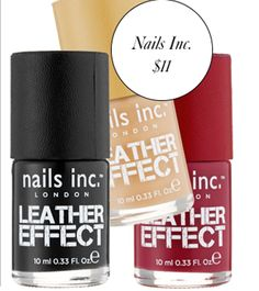 Instant Makeover: A Leather Nail Polish For Subtle Texture