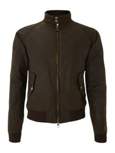 Barbour merchant bomber jacket Olive -