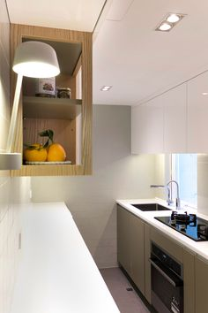 Tiny Hong Kong Apartment Featuring A Very Creative And Functional Best Kitchen Design For Flats Design Inspiration