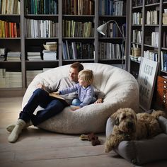 Sheepskin Family Beanbag.  This is amazing!