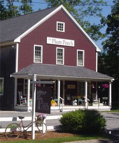 My favorite gift shop on the Cape - and the Plum Porch ladies are the BEST!!
