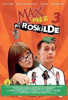 Plakaten til Max Pinlig På Roskilde, copyright SF Film