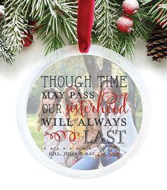 Sorority Christmas Ornaments, Sorority Ornaments, Chi Omega, Christmas Ornament Gift, Sorority Sisters Christmas Ornament // C-P47-OR XX9
