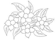 desenhos para colorir flores - Pesquisa Google