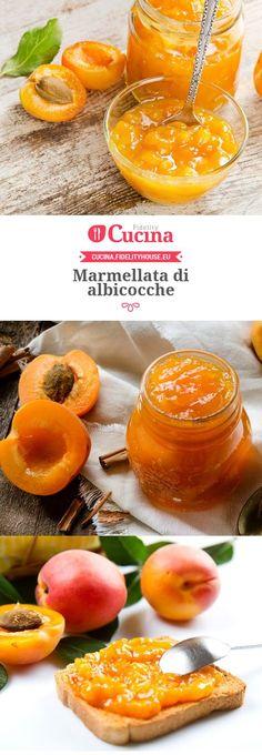 Marmellata di albicocche Cooking Time, Cooking Recipes, Healthy Recipes, Italian Desserts, Italian Recipes, Chutney, Marmalade Jam, La Constipation, Fruit Preserves